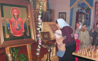 Абалакская икона божией матери знамение молитва