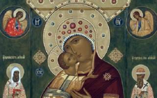 Молитва иконе божьей матери волоколамская