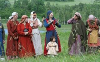 Старорусские женские имена и их значения. Список старорусских женских имен