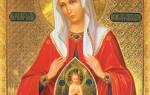 Молитва к святым о рождении ребенка