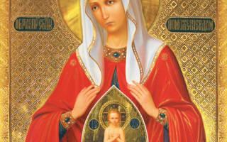 Молитва от бесплодия перед иконой