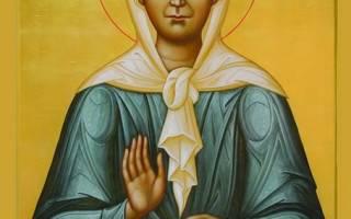 Икона матушки матроны и молитва к ней