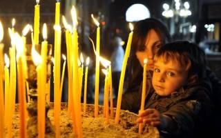 Молитва на пасхальные свечи