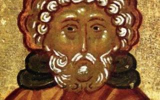 Святой моисей молитва от пьянства