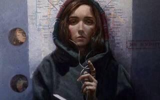 Картина молитва девушка