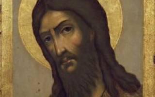 Молитва иоанну предтечи с обручем