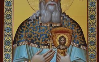 Молитва праведному иоанну кронштадтско