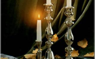 Молитва для зажигания субботних свечей