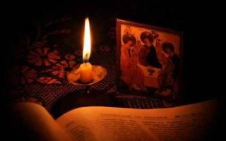 Защитная молитва и заговор