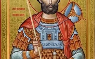 Иоанн воин молитва от воровства