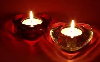 Приворот на свечу молитва