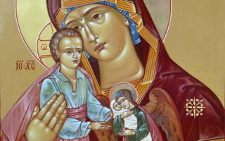 Милосердия двери отверзи нам молитва благословенная богородице