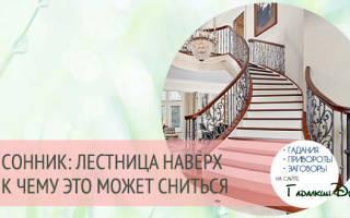 Видеть во сне подниматься по лестнице. К чему снится лестница