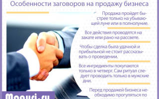 Как продать бизнес молитва