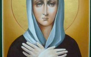 Блаженная ксения петербургская икона молитва
