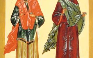 Молитва косьме и дамиану икона