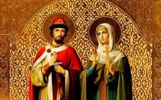 Молитва о рождении детей петру и февронии