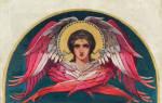 Молитва ангелы архангелы херувимы серафимы вся
