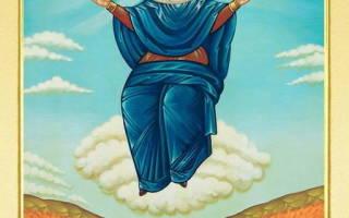 Молитва перед иконой хлебная