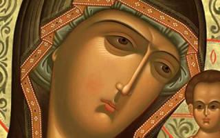 Казанская божья матерь молитва о ребенке