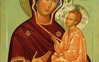 Молитва тихвинской божьей матери о здоровье ребенка
