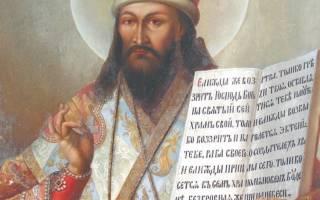 Молитва дмитрию ростовскому о помощи