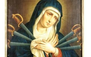 Молитва святой богородице от сглаза