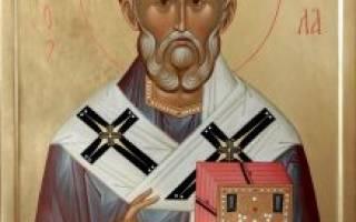 Молитва для николая чудотворца угодника