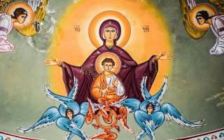 Молитва царица небесная мария