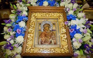 Молитва о зачатии здорового ребенка богородице феодоровской