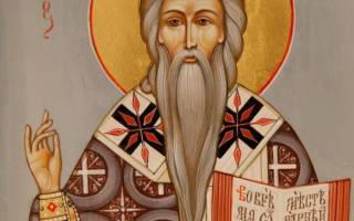 Молитва от горла святому власию