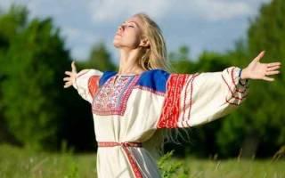 Молитва даждьбожья утренняя