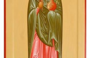 День ангела анастасии молитва