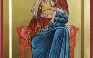 Молитва иконе божьей матери милующая