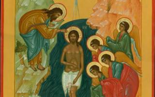 Молитва на освящение крещенской водой