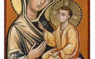 Молитва тихвинской божьей матери знамение