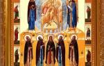 Молитва воздержания пансофия афонского отзывы