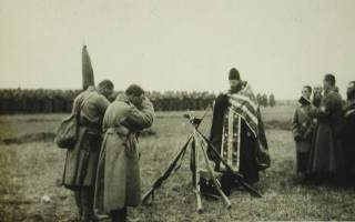 Русская молитва в бою