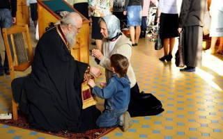 Молитва богородицы за духовного отца и