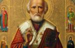 Молитва иконе святителю николаю чудотворцу
