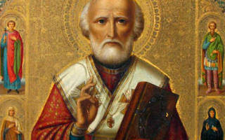 Николай чудотворец самая сильная молитва