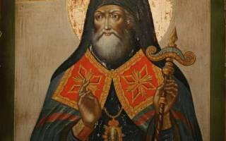 Молитва митрофана воронежский