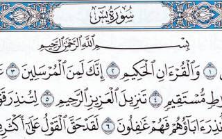 Ислам молитва ясин