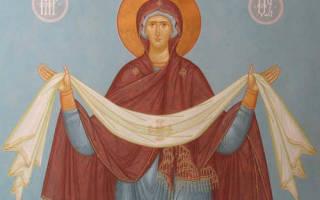 Молитва покрова пресвятой богородицы защиты детей