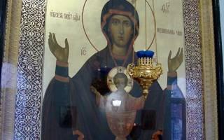 Молитва матери от пьянства детей иконе неупиваемая чаша