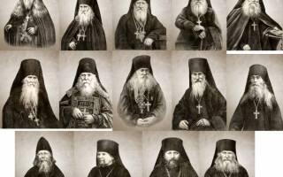 У монахов молитва