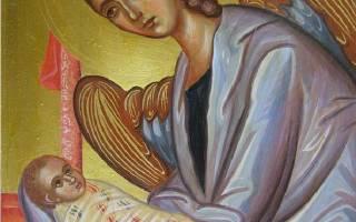 День рождения молитва ангелу хранителю
