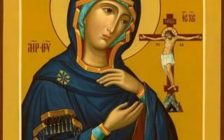 Молитва ахтырской богородице