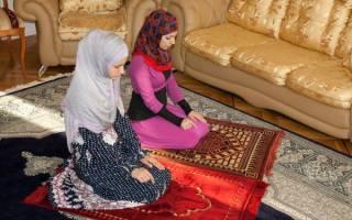 Молитва мусульманская для женщин