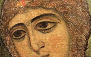 Икона ангел златые власы молитва к ней